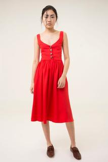 Vestido Pictor Rojo Las Pepas