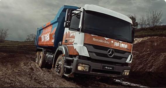Mercedes Benz Axor 3131 K/36 Anticipo $ 69,109.35