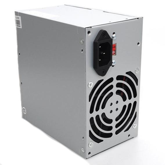 Fonte Atx 450w Nominal 200w Real Computador Pc