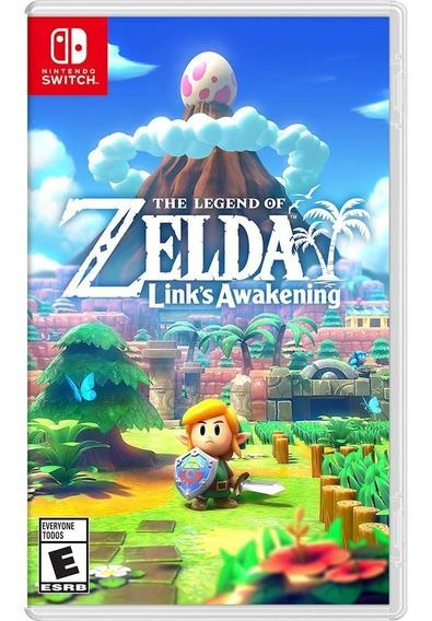 Jogo Game Nintendo Switch Zelda Links Awakening Fisico Novo
