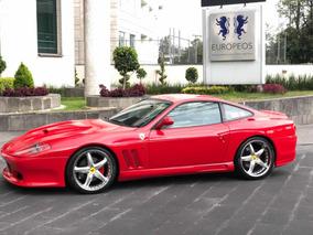 Ferrari 550 Maranello V12 485hp 2001 (muy Pocos En México)