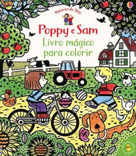 Imagem 1 de 1 de Poppy E Sam: Livro Mágico Para Colorir