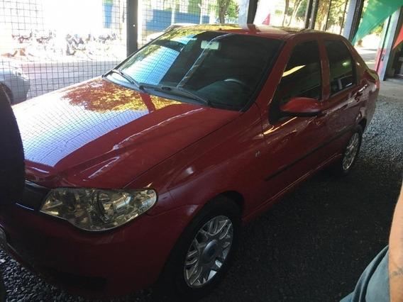 Fiat Siena Hlx 1.8 Vermelho 2005
