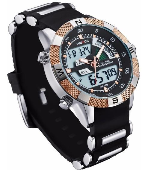 Relógios Masculino Weite Original Barato Garantia 1 Ano