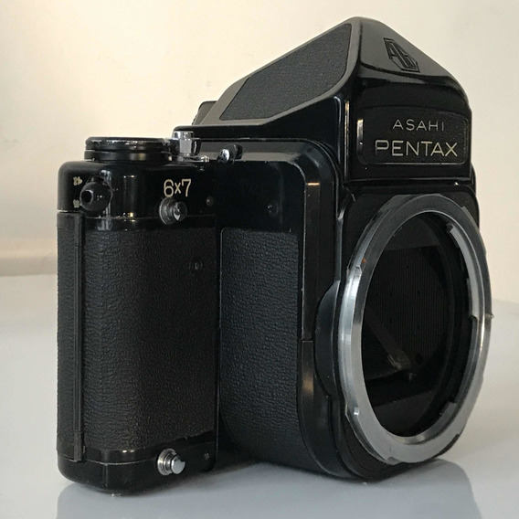 Câmera De Filme Medio Formato Pentax 6x7 67 Com Prisma