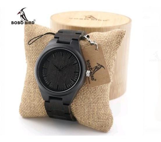 Reloj Bobo Bird Madera Original Mod H05 Caballero