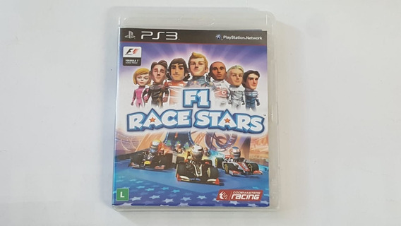 Jogo F1 Race Stars - Ps3 - Original - Mídia Física