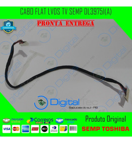 Cabo Flat Lvds Tv Semp Toshiba Dl3975i(a) Original