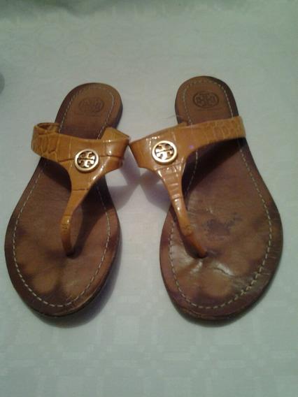 Sandalias Amarillas Tory Burch Usadas Originales