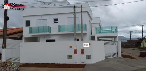Casa Nova Em Bairro Residencial 2 Dormitórios Sendo 1 Suíte ,sala Cozinha Wc Social ,lavanderia E Garagem Documentação Para Financiamento R$189.000 Marque De Fazer Uma Visita Com - Ca01023 - 33360589