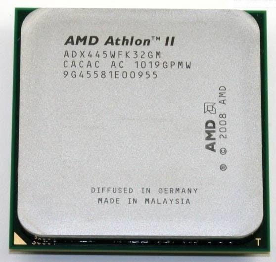 Processador Amd Athlon Ii X3 445 3,1ghz + Pasta Térmica
