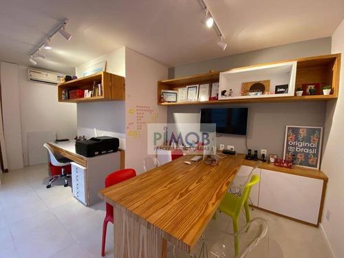 Sala Para Alugar, 29 M² Por R$ 2.500,00/mês - Jardim Botânico - Rio De Janeiro/rj - Sa0077