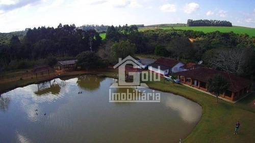 Chácara Com 24.000m² Com Tanques De Pesca, Casa Sede, Excelente Estrutura Na Cidade De Pilar Do Sul-sp - Ch0060