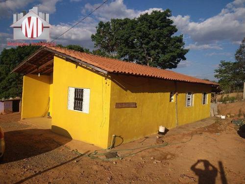Linda Chácara Com Casa Principal E Outra Casa Em Construção, 3 Dormitórios, Linda Vista, À Venda, 1000 M² Por R$ 170.000 - Tuiuti/sp - Ch0772