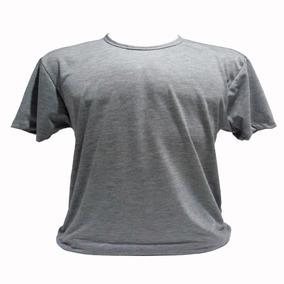 Camiseta Cinza Para Sublimação Atacado Kit Com 15 Peças