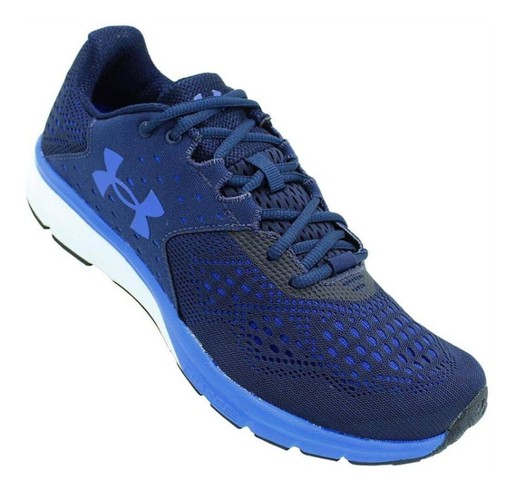 Tênis Under Armour Charged Rebel Sa Azul Academia Caminhada
