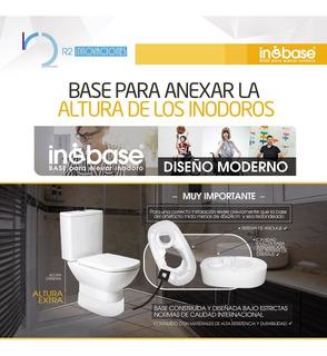 Base Eleva Inodoro Inobase Para Baño De Discapacitados