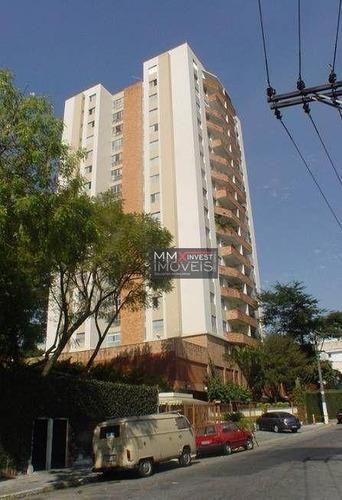 Imagem 1 de 22 de Apartamento Com 3 Dormitórios, 110 M² - Venda Por R$ 620.000,00 Ou Aluguel Por R$ 2.400,00/mês - Santana (zona Norte) - São Paulo/sp - Ap1150