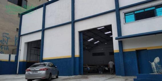 Galpão Para Alugar, 820 M² Por R$ 12.000/mês - Cidade Industrial Satélite De São Paulo - Guarulhos/sp - Ga0202