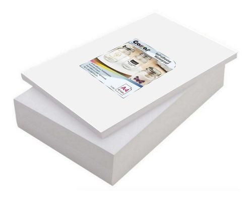 Imagen 1 de 2 de Papel Adhesivo Inkjet Color Transparente Stickers Pegotines