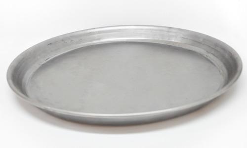 Imagen 1 de 5 de Pizzera Molde De Pizza De Chapa 36 Cm 8 Porciones
