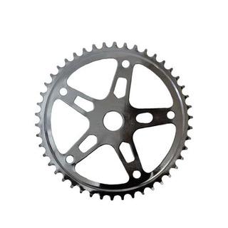 Coroa Engrenagem 46 Dentes P/ Bike Zincada Estrela