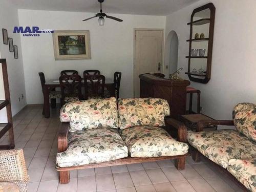 Imagem 1 de 14 de Apartamento Residencial Para Locação, Barra Funda, Guarujá - . - Ap10904