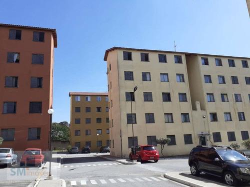 Apartamento Com 2 Dormitórios À Venda, 45 M² Por R$ 170.000 - Parque Das Nações - Santo André/sp - Ap2494