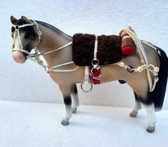 Miniatura Cavalo Encilhado Sob Encomenda Escolha A Pelagem