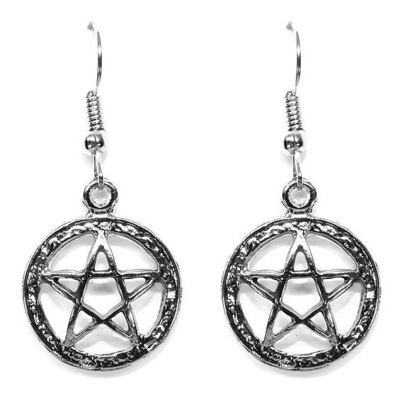 Brinco Pentagrama Bruxa