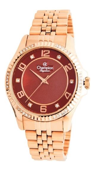 Relógio Feminino Champion Analógico Cn25805z - Rose