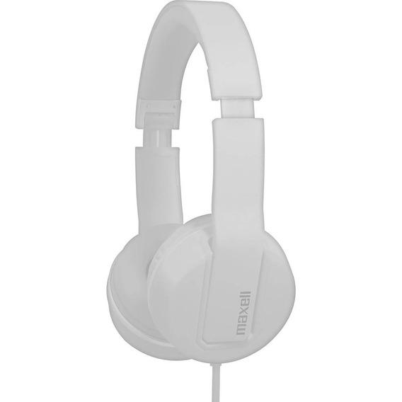 Fone De Ouvido Maxell Solid 2 Com Microfone Branco