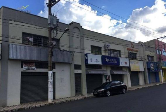 Sala Para Alugar, 54 M² Por R$ 750/mês - Centro - Mogi Guaçu/sp - Sa0027