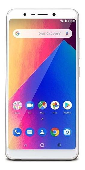 Smartphone Multilaser Ms60x Plus 16gb 5,7 Dourado/branco