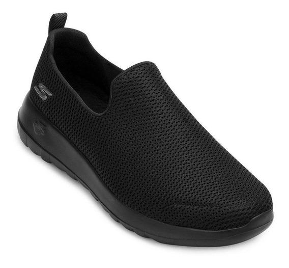 Tênis Iate Skechers Go Walk Max Sk20-5460 Preto-preto