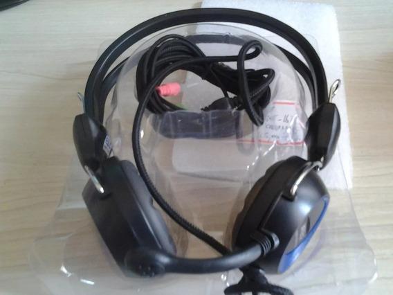 Fone De Ouvido Estéreo Com Microfone Cd 830