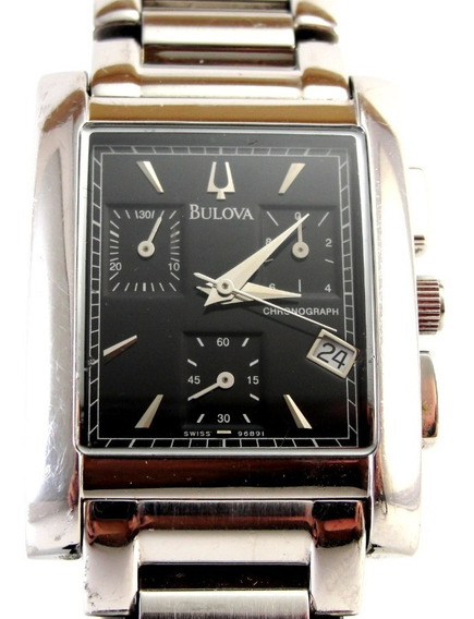 Relógio Bulova Ref: 96b91 - Masculino - Swiss Made