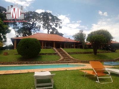 Chácara Com 8 Dormitórios À Venda, 12000 M² Por R$ 1.200.000 - Zona Rural - Pinhalzinho/sp - Ch0371