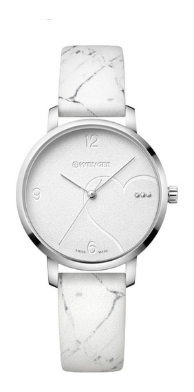 Relógio Feminino Suíco Wenger Metropolitan Donnissima Branco