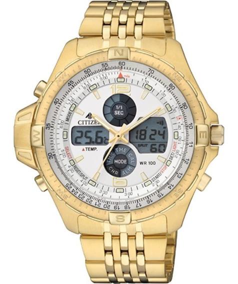 Relógio Citizen Unissex Dourado Tz10093h