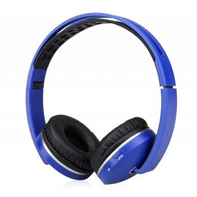 Fone Ouvido Headphone S/fio Bluetooth Sd Rádio Fm Mp3 Usb P2