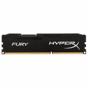 Memoria Ram Kingston Hyperx Fury Black Ddr3 1600 4gb