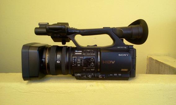 Filmadora Profissional Sony + Unidade De Gravação Mrc1k