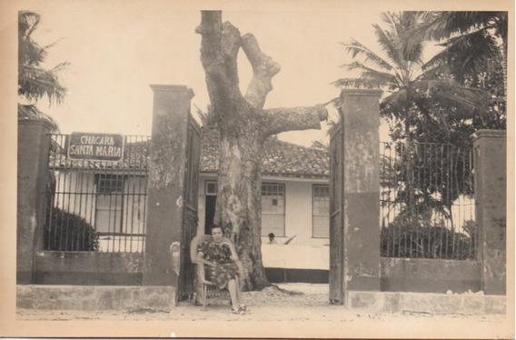 Antiguidade Bahia (?) Anos 1930: Imagem Chácara Santa Maria