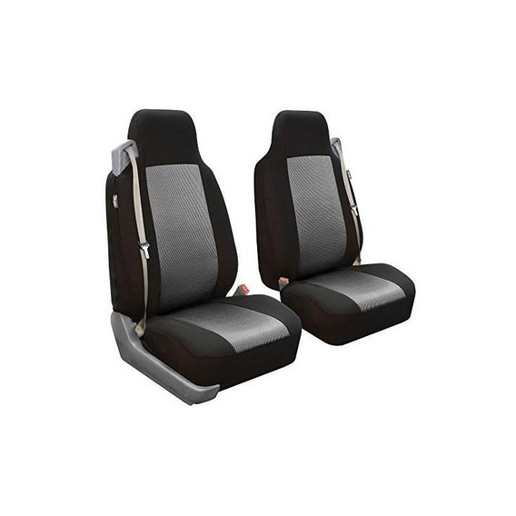 Fh Group Fb302gray102 Grey Classic Cloth Built-in Seatbelt C