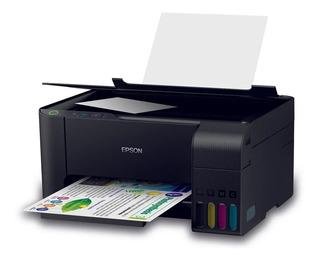 Multifunción Continua Epson L3110 Copia Imprime Scan Ahora12