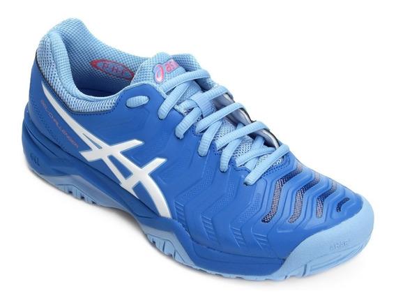 Tênis Asics Gel Challenger 11 Azul Feminino Promoção