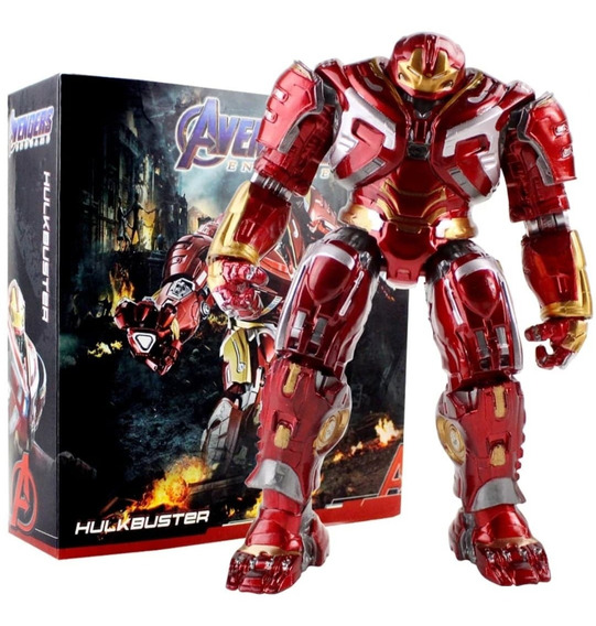 Figura Iron Man Avengers 22cm Nuevo Endgame Hulkbuster Tony