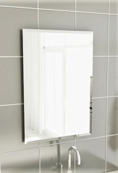 Espelho Bisotê 50x60cm-p/banheiro- Enviamos P/ Todo O Brasil