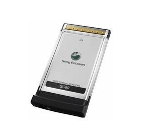 Modem Pcmcia Wi-fi B/g Sony Ericsson - Gc89